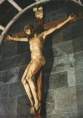 Donatello crucifix