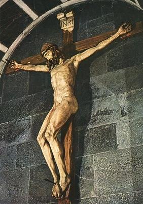 Donatello crucifix