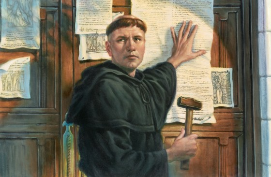 summary of luthers 95 thesis Martin luther and his 95 theses, the reformation, renaissance and reformation, sose: history, year 8, vic introduction historians have identified many reasons for the.